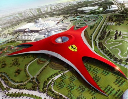 www.SACarFan.co.za - Ferrari World, Abu Dhabi