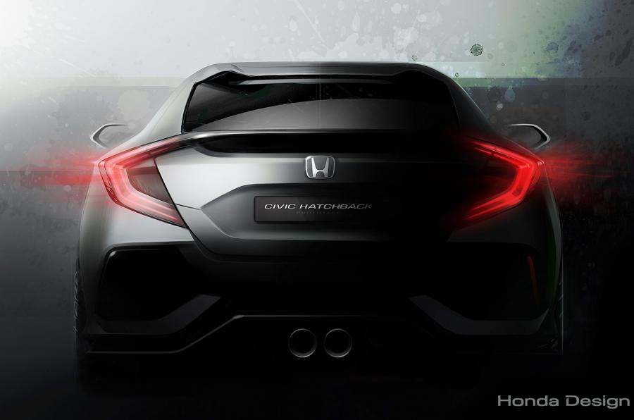 2017 Honda Civic Teaser
