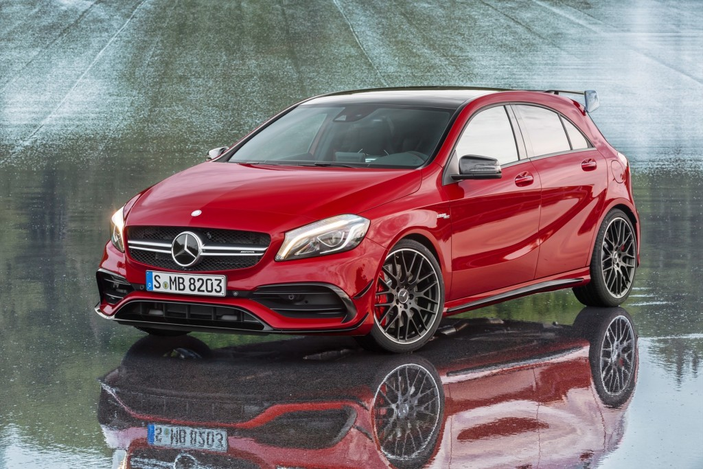 New Mercedes A45 Amg In Sa Is The Most Ful Hatch On
